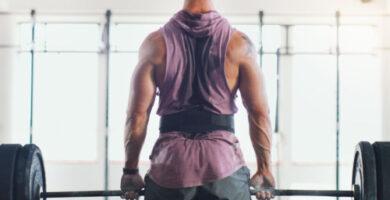 Cinturón de levantamiento de pesas