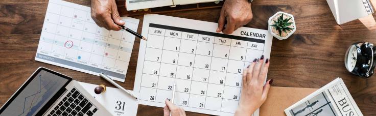 Calendario de marketing para PT