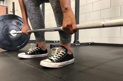 Zapatos De Levantamiento De Pesas Converse