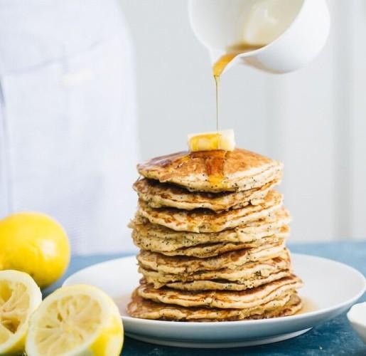 Panqueques de limón con semillas de amapola1