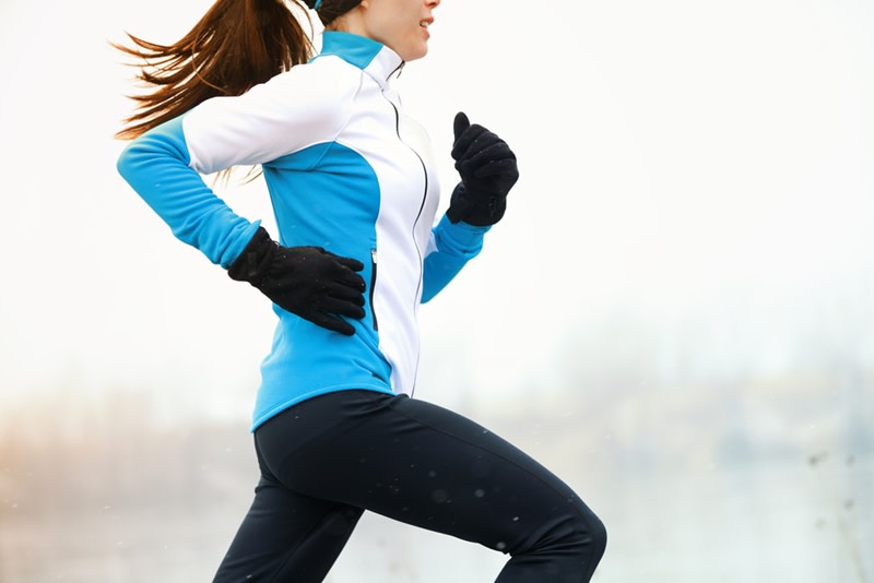 Algunas personas disfrutan del ejercicio en el frío, ¡otras no tanto!